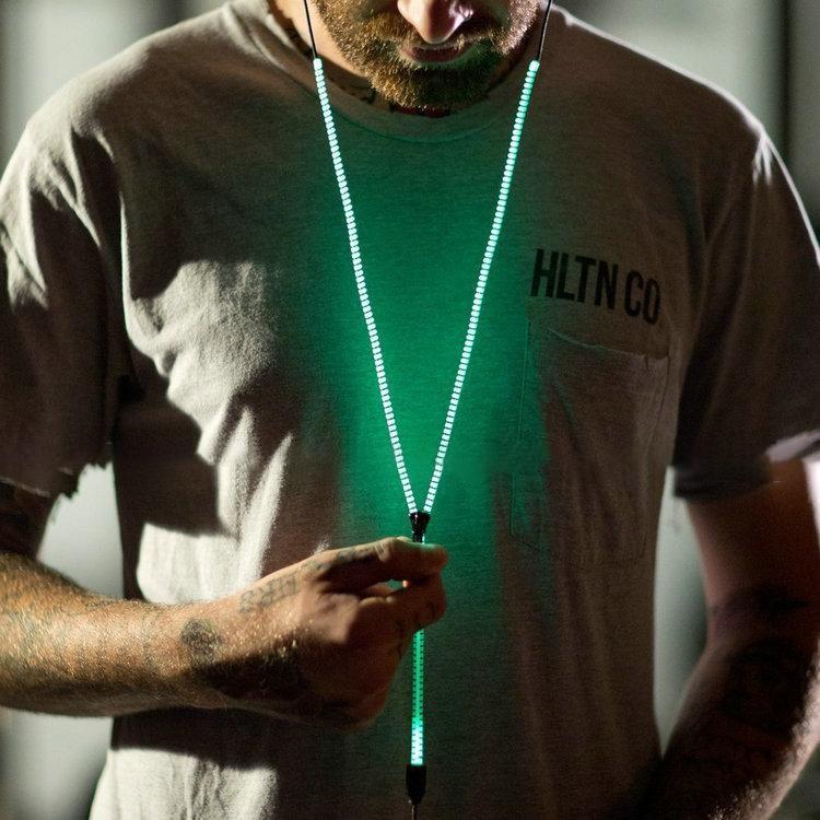 Fone de Ouvido modelo Zipper Fluorescente
