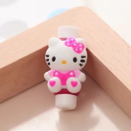 Protetor para Cabo USB - Hello Kitty