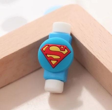 Protetor para Cabo USB - Superman